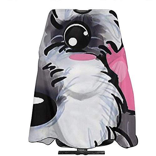 Pag Crane Zwergschnauzer Hundepflege Schürze Friseur Kleid Haarfarbe Abdeckung Für Salon Heimgebrauch Für Styling Design Friseur
