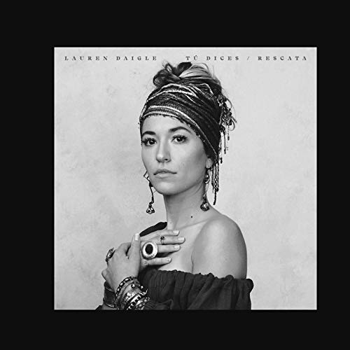 yhyxll Lauren Daigle Tú Dices/Rescata Poster Prints Pictures Canvas Prints Wall Art Living Room Home Decoration -50x50cm No Frame