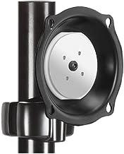 Chief Flat Panel Monitor Pivot Pitch Landscape Portrait Pole Display Mount Univ Weight Capacity 75lbs Black