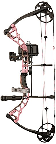 Diamond Archery Infinite Edge Pro Bow Package, Pink Blaze,...