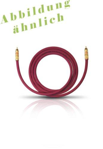 Oehlbach 20548 NF 214 cable, burdeos, 8 m // Calidad ****