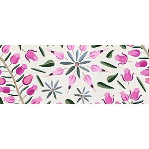 Geschenkpapier Kleine rosa-violette Rosen wie Blumenpapier für Geburtstag, Urlaub, Hochzeit Geschenkverpackung 58