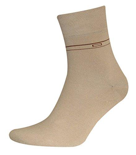 Sympatico Kurzsocken OTTO (2 Paar) Color beige, Size 43-46