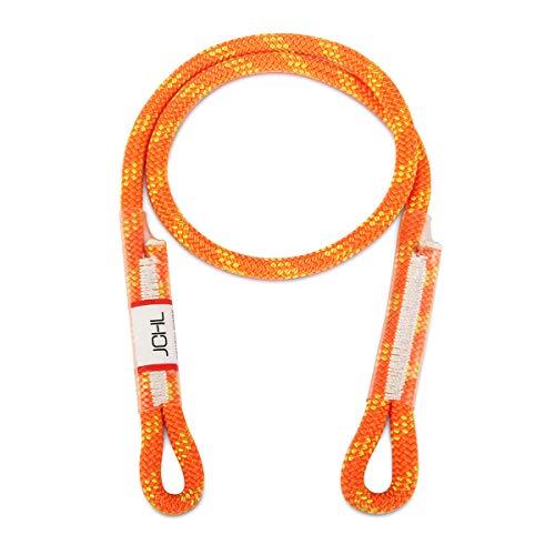 JCHL 8mm 30inch Prusik Swen Eye-to-Eye Pre-Sewn Rock Climbing Rope
