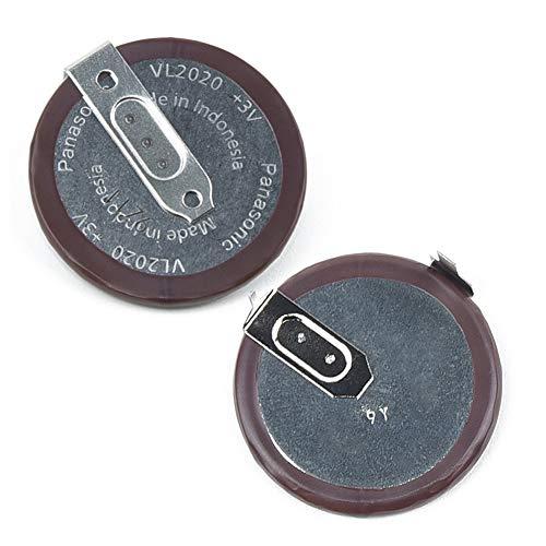Panasonic ML2020 VL2020, Pila de botón para Llaves y Mando a Distancia de BMW Serie 3, 5, 7, X3, X5, E46, E38, E39, E60, E61, E53, E83