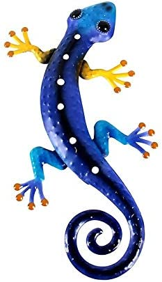 JSRTH Sculptures Decor 2021 autumn and winter new Statues Gecko Home Metal Max 86% OFF Wall