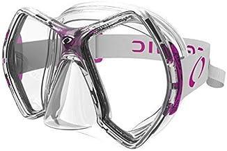 Oceanic Cyanea Ultra Scuba Mask - Clear Lens - Clear/Pink