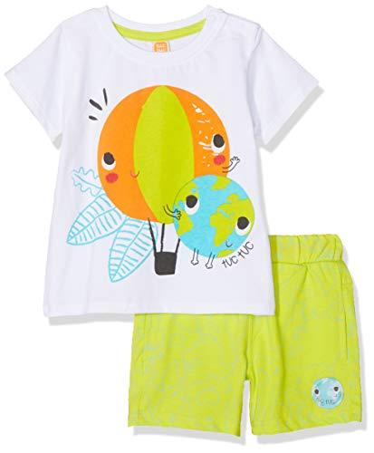 Tuc Tuc Camiseta+Bermuda Estampada Punto Ni/ño Pirates Conjunto de Ropa para Beb/és