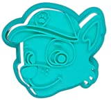 Molde Cortador de Galletas - Dibujos Animados de Patrulla Canina - Rocky (Turquesa)