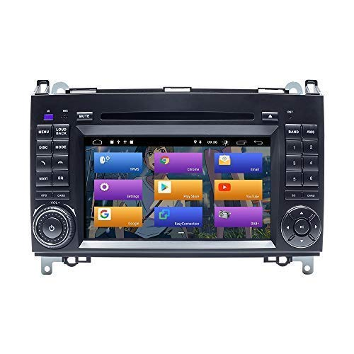 BOOYES per Mercedes-Benz W169 W245 B160 B170 B180 B200 W639 Vito Viano W906 Sprinter VW Crafter Android 10.0 Autoradio Stereo GPS 7'Car Lettore multimediale Car Auto Play/TPMS/OBD/Dab/Mirror Link