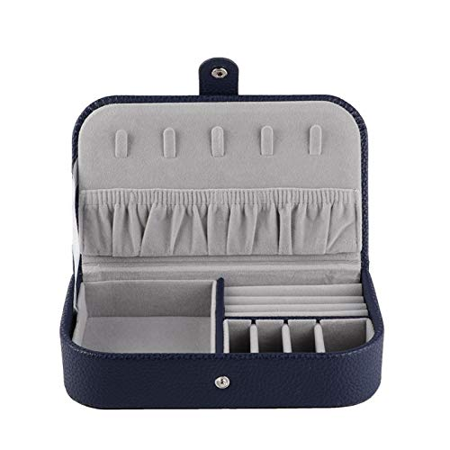 Aufbewahrungsbox Mode Reise Diktiergeräte Zubehör Taschen Tragbare Halskette Ohrring Container Box Schmuck Halter Fall