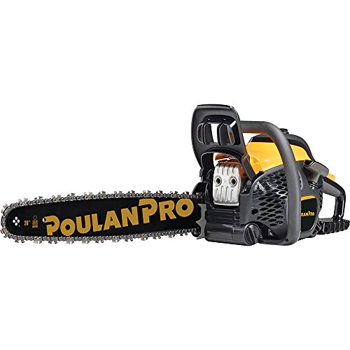 Poulan Pro 20 in. 50cc 2-Cycle Gas Chainsaw,...
