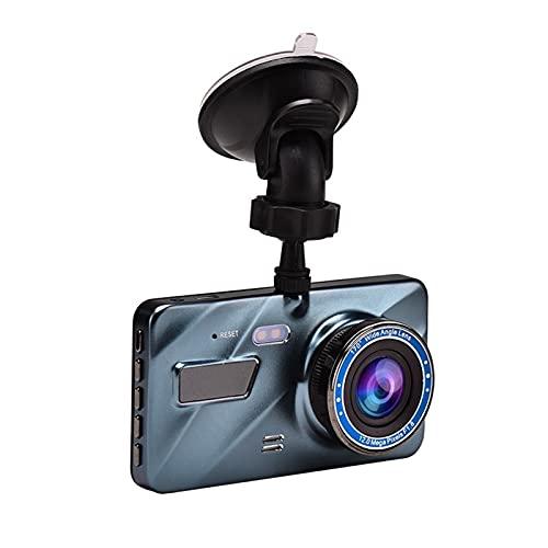 Detector GPS Coche D-V-R Dash CAM Video Recorder 3 en 1rear Vista Doble Cámara Dual Cámara Cámara Full HD 3.6'Recepción de Ciclo Visión Nocturna G-Sensor Dashcam Detector de Coches