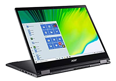 """Acer Spin 5 Convertible Laptop, 13.5"""" 2K IPS Touch, i7-1065G7 NVMe SSD, WiFi 6, Backlit KB"""