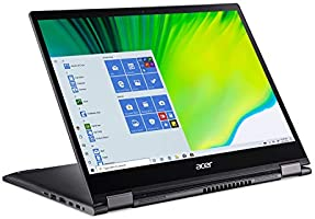 """Acer Spin 5 Convertible Laptop, 13.5"""" 2K 2256 x 1504 IPS Touch, 10th Gen Intel Core i7-1065G7, 16GB LPDDR4X, 512GB NVMe..."""