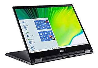 "Acer Spin 5 Convertible Laptop, 13.5"" 2K 2256 x 1504 IPS Touch, 10th Gen Intel Core i5-1035G4, 16GB LPDDR4X, 512GB NVMe SSD, WiFi 6, Backlit KB, FPR, Rechargeable Active Stylus, SP513-54N-56M2 (B087782XLJ) 