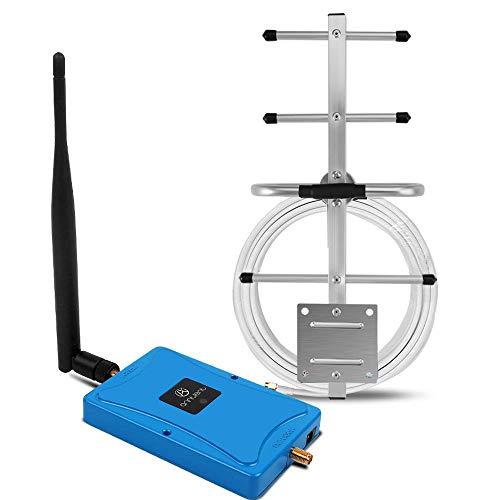 ANNTLENT Amplificador Señal Movil 4G LTE 800MHz Band 20 Repetidor 4G para EI Hogar y la Oficina Soporte Movistar/Orange/Vodafone