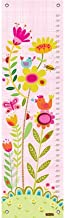 "Oopsy Daisy, Fine Art For Kids Bloomin' Birdies - Pink & White Growth Chart, 12 x 42"", Multi"