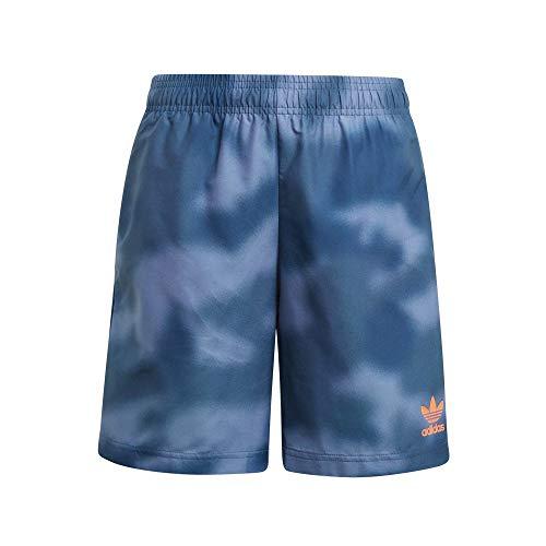 adidas GN4133 Swim Short Costume da Nuoto Bambino Crew Blue/App Solar Red 7-8A