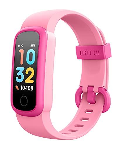 スマートウォッチ キッズ 腕時計 歩数計 Willful K6 子供 活動量計 ストップウォッチ 着信通知 睡眠モニター IP68防水 目覚まし時計 最長連続7日間使用可能 ios&Android対応
