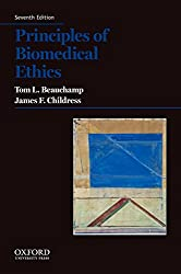 Principles of Biomedical Ethics - Tom L. Beauchamp & James F. Childress Book Cover