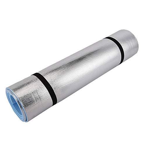 Alfombrilla de playa de 6 mm de espuma EVA para yoga individual esterillas de película de aluminio al aire libre a prueba de humedad para picnic