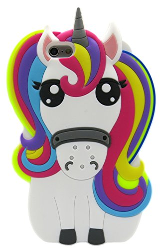 Fundas Iphone 6Plus Silicona Unicornio