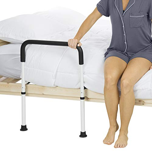 Vive Bed Assist Rail - Adult Bedside Standing Bar for Seniors, Elderly,...