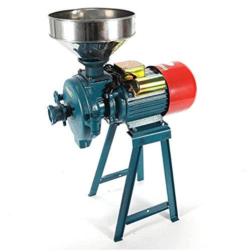 Electric Mill Wet Dry Cereals Grinder 220V 1500W Rice Corn Grain Coffee Wheat Feed Flour Grinding Miller Milling Machine with Funnel