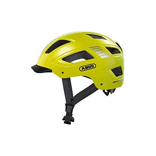 ABUS Unisex-Erwachsene HYBAN 2.0 Fahrradhelm, signal yellow, L