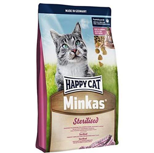 Happy Cat Adult Minkas Sterilised 10Kg