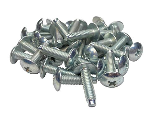 RackGold 10-32 Zinc Rack Screws 25 Pack - USA Made