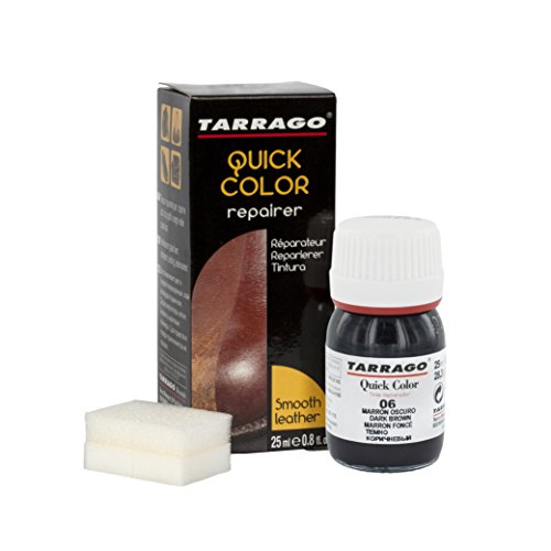 Tarrago Quick 25ml, Pinturas y tintes Unisex Adulto, Marrón (Dark Brown 06), 20 mL