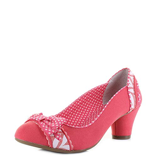 Ruby Shoo Hayley Womens Shoes Pink