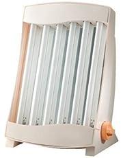 Efbe-Schott Solarium facial con 6 lámparas, 105 W, 2 gafas de protección incluidas, Blanco, SC GB 836 N
