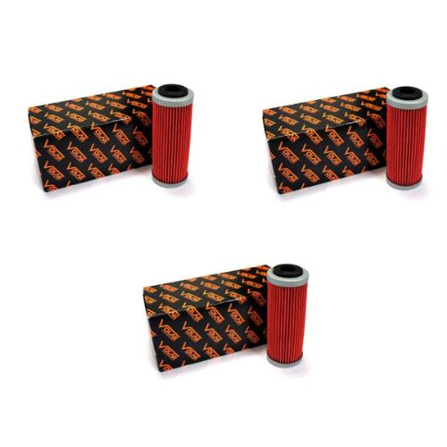 Volar Oil Filter - (3 pieces) for 2013-2017 KTM 250 SXF