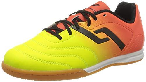 Pro Touch Unisex-Kinder Classic II IN Jr. Fußballschuhe, Orange (Orange/Gelb/Schwarz 000), 33 EU