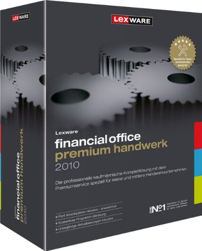 Lexware Financial Office Premium Handwerk 2010 NEU
