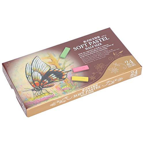 Crayones de dibujo, juego de crayones de colores, para adultos, no tóxicos,(24 colors)