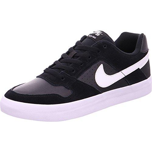 Nike SB Delta Force Vulc, Zapatillas de Skateboard Unisex Adulto, Multicolor (Black/White/Anthracite/White 010), 44 EU