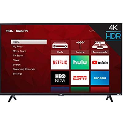 TCL inch 4-Series 4K Roku Smart UHD TV (55 in) from TCL