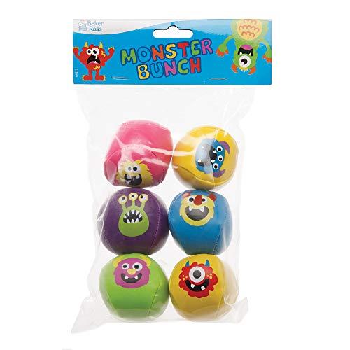 Juguetes infantiles para bolsas de cotill/ón Baker Ross Helado con Bola de Espuma Voladora Paquete de 6