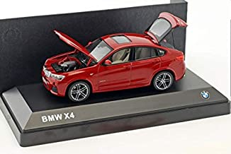 BMW X4, metallic-red, 2015, Model Car, Ready-made, I-BMW Group 1:43