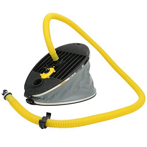 MAGT Fußpumpe, Hochdruck 10L Boot Fußluftpumpe Tragbare aufblasbare Luftpumpe für Kajak Kanu Floß Gummiboot