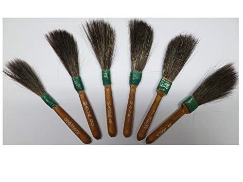 Andrew Mack - set met 6 penselen voor pinstriping - serie 20