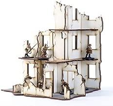 World at War - Buildings & Terrain 28mm Urban Ruins - Stalingrad #10 (Pre-Painted)