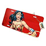 Graphics and More Wonder Woman Character Novelty Metal Vanity Tag License Plate