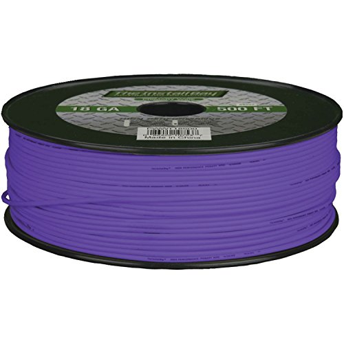 Install Bay PWPL18500 Primary Wire 18 Gauge - Purple (500 Feet)