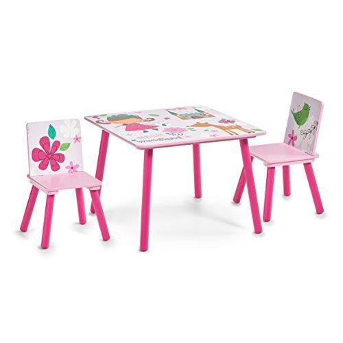 Zeller 13491 Kinder-Sitzgarnitur Girly, MDF, Dekor