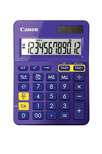 Canon LS-123K Metalen rekenmachine No Aubergine